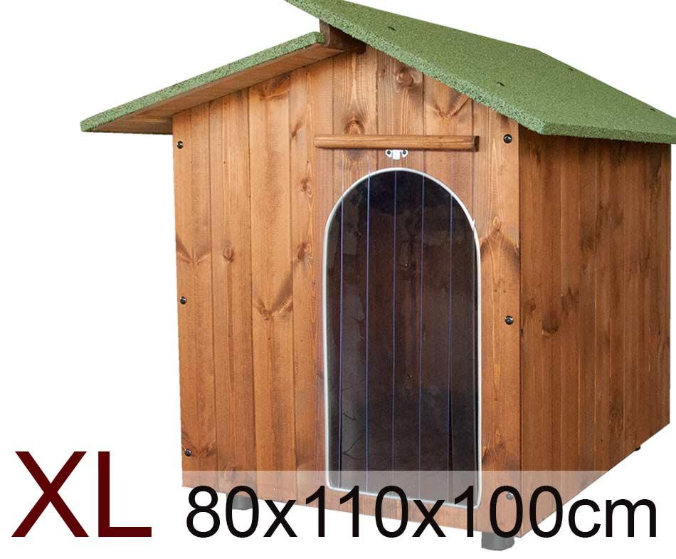 Cuccia Extra Large per cani in legno - Cuccia per Amore