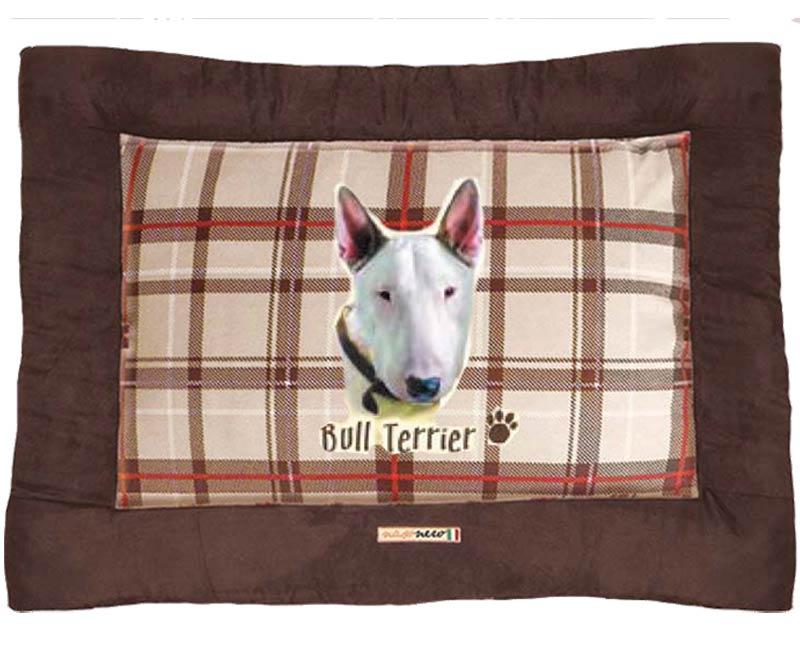 Tappeto per cani bull terrier cuccia amore